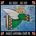 Angel Flight Poster by Tim Nyberg