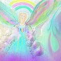 Angel Working by Rosana Ortiz