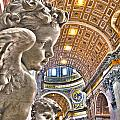 Angels At The Vatican by Michael Yeager