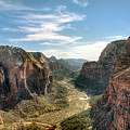 Angels Landing - Zion National Park by Bryant Scannell