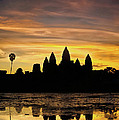 Angkor Wat At Sunrise II by Stefan Nielsen