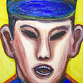 Angry Chinese Police Officer by Kazuya Akimoto