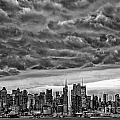 Angry Skies Over Nyc by Susan Candelario