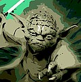 Angry Yoda by George Pedro