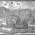 Animals Entering The Ark by Granger