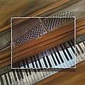 Anita's Piano Layered by Anita Burgermeister