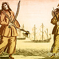 Anne Bonny And Mary Read, 18th Century by Photo Researchers
