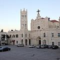 Annunciation Latin Church In Beit Jala by Munir Alawi