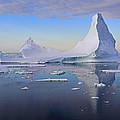 Antarctic Evening by Tony Beck