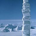 Antarctic Snowman by David Vaughan