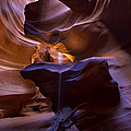 Antelope Canyon by Dennis Hedberg