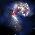 Antennae Galaxies, Composite Image by Nasa
