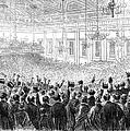 Anti-slavery Meeting, 1863 by Granger
