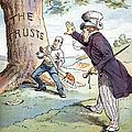 Anti-trust Cartoon, 1904 by Granger