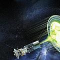 Antimatter Spaceship by Henning Dalhoff