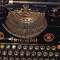 Antiquated Typewriter by Jutta Maria Pusl