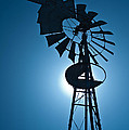 Antique Aermotor Windmill by Steve Gadomski