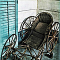 Antique Baby Carriage by Joan  Minchak