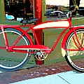 Antique Bicycle by Lenore Senior