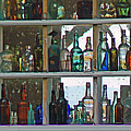 Antique Bottle Collection  by Pamela Patch