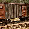 Antique Boxcar by Paul Mangold