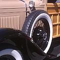 Antique Classic Vintage Car by Sven Migot