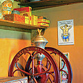 Antique Coffee Mill by Dave Mills