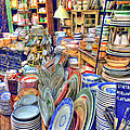 Antique Dishes Fishs Eddy New York by Dave Mills