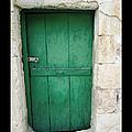 Antique Door   Jerusalem Israel by John Shiron