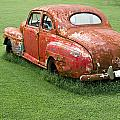 Antique Ford Car 5 by Douglas Barnett