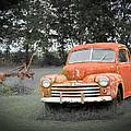 Antique Ford Car 7 by Douglas Barnett