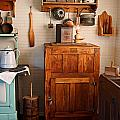 Antique Ice Box by Carmen Del Valle
