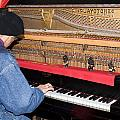 Antique Playtone Piano by Sally Weigand