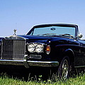 Antique Rolls Royce by Sally Weigand