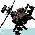 Apache Preparing To Attack by George Pedro