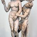 Aphrodite Pan And Eros by Andonis Katanos