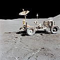 Apollo 15 Lunar Roving Vehicle by Stocktrek Images