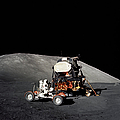 Apollo 17 Astronaut Makes A Short by Stocktrek Images