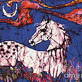 Appaloosa In Flower Field by Carol Law Conklin