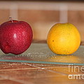 Apple And Orange by Michelle Powell