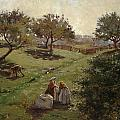 Apple Orchard by Luther  Emerson van Gorder