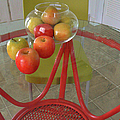 Apples In The Kitchen by Pamela Patch