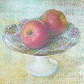 Apples Still Life Print by Svetlana Novikova