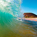 Aqua Swirl by Monica and Michael Sweet