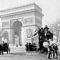 Arc De Triomphe - Paris France - C 1898 by International  Images