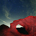 Arch And Stars by Rick Berk