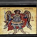 Archangel Michael Mosaic by Sally Weigand