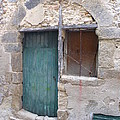 Arched Stone Work Over Door by Lainie Wrightson