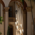 Arches And Columns At The Biltmore Hotel by Ed Gleichman