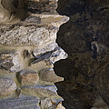 Architectural Detail Of Stone Work by Todd Gipstein